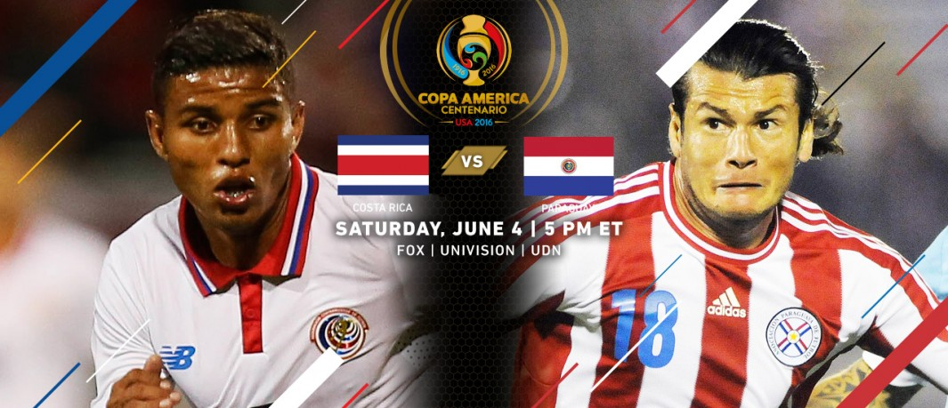 Коста-Рика - Парагвай 2015 копа америка