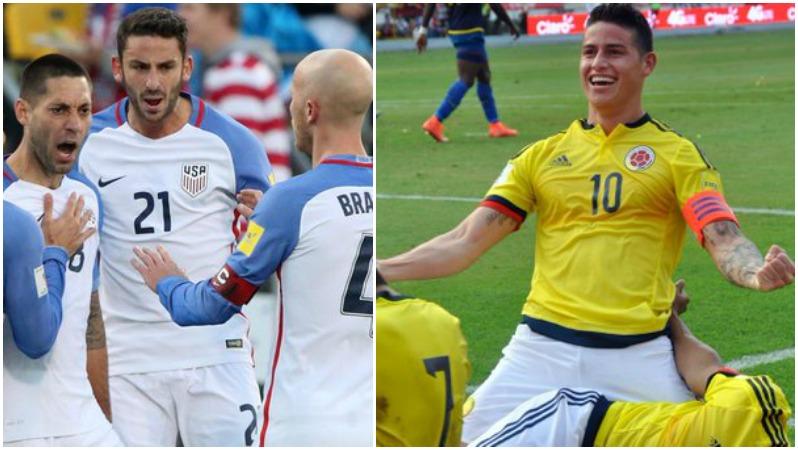 США - Колумбия матч за третье место на Кубке Америки 2016