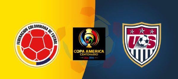 Матч США - Колумбия открывает Кубок Америки по футбол 2016 года.