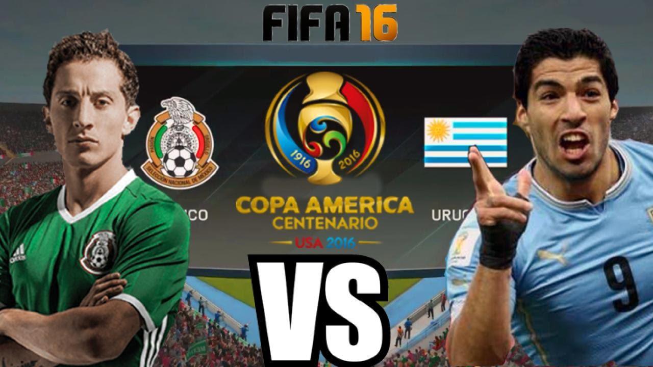 Мексика - Уругвай на кубке Америки 2016