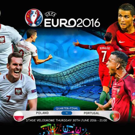 Матч Польша - Португалия на ЕВРО 2016