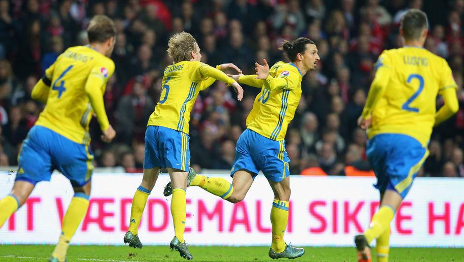 Сборная Швеции на ЕВРО-2016