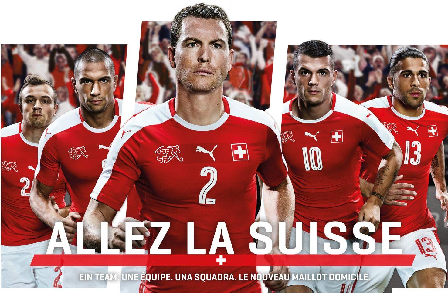 Сборная Швейцария на ЕВРО - 2016