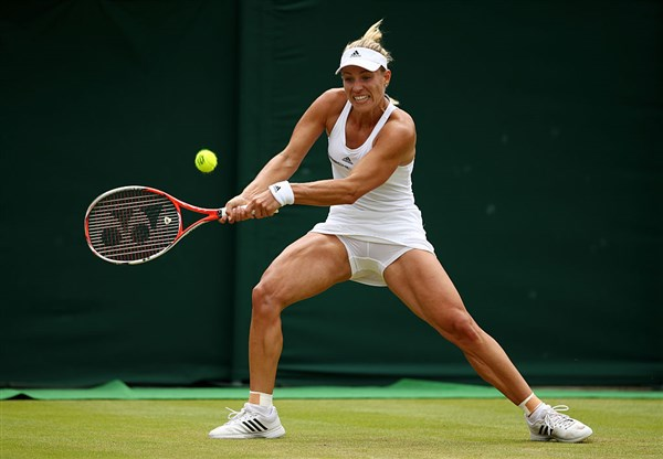 Анжелика Кербер пикантное фото тенниситок