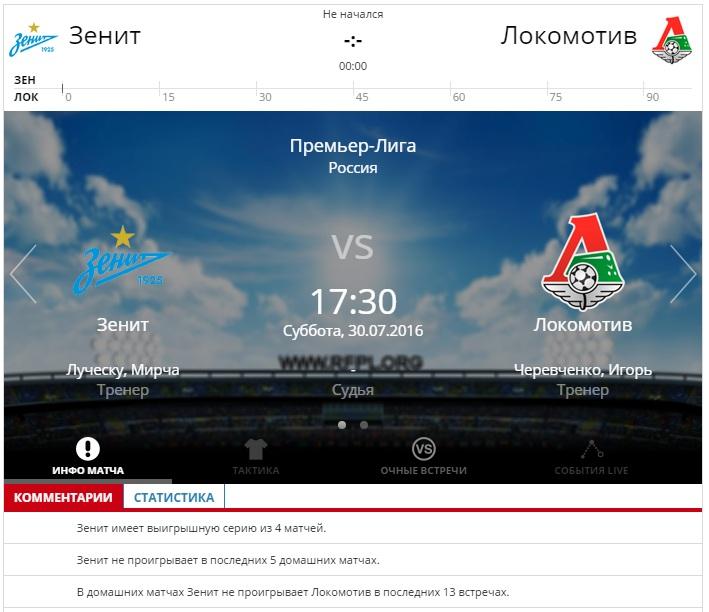 прогноз на чемпионат россии по футболу 2016-2017