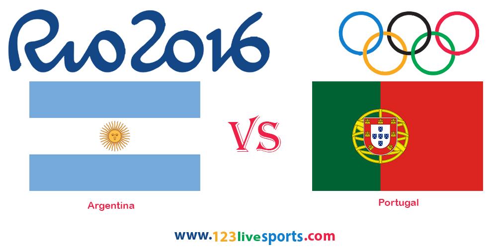 Португалия - Аргентина 4 августа 2016