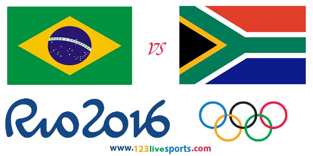 Бразилия-ЮАР 4 августа 2016