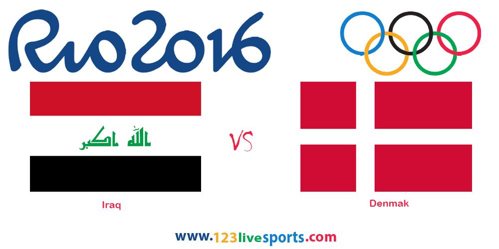 Ирак Дания Олимпиада 2016