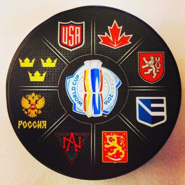 Логотип Кубок мира по хоккею 2016 года
