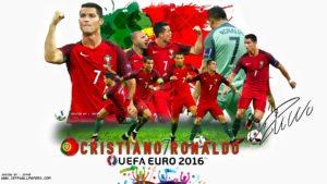 Криштиану Роналду звезда сборной Португалии