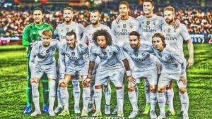 Криштиану Роналду фотография перед матчем Реала