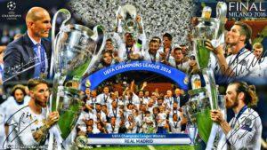Криштиану Роналду радуется победе в Лиге Чемпионов в 2016 году