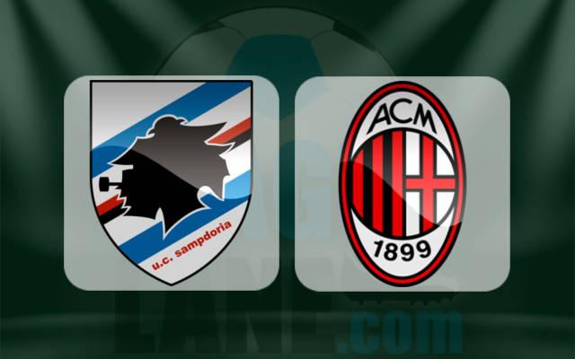 Сампдория - Милан 16 сентября 2016 года