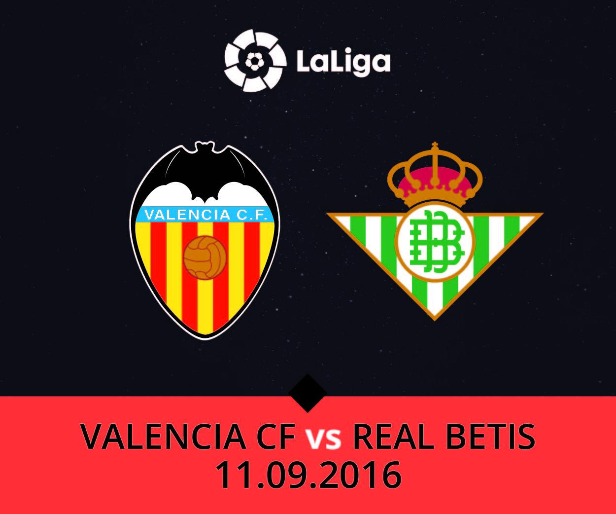 Валенсия - Бетис 11 сентября 2016