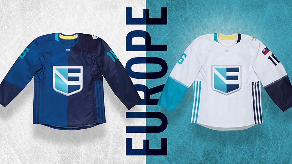 Игровой свитер сборной Европы по хоккею