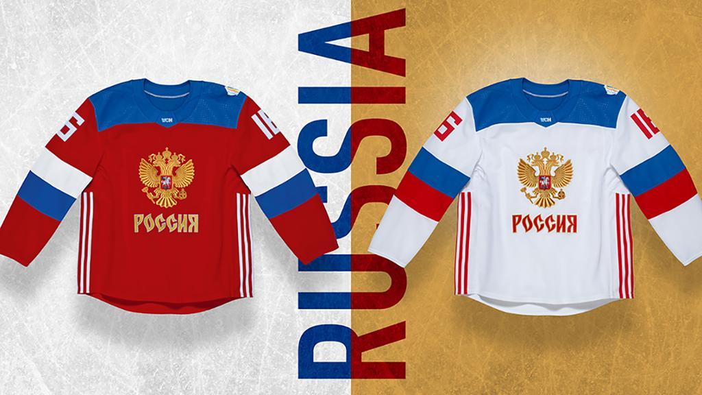 Форма сборной России по хоккею на кубке Мира 2016