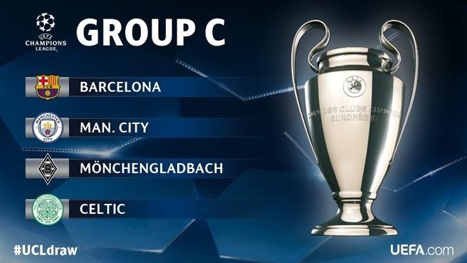 Прогноз группы С в Лиге Чемпионов 2016-2017