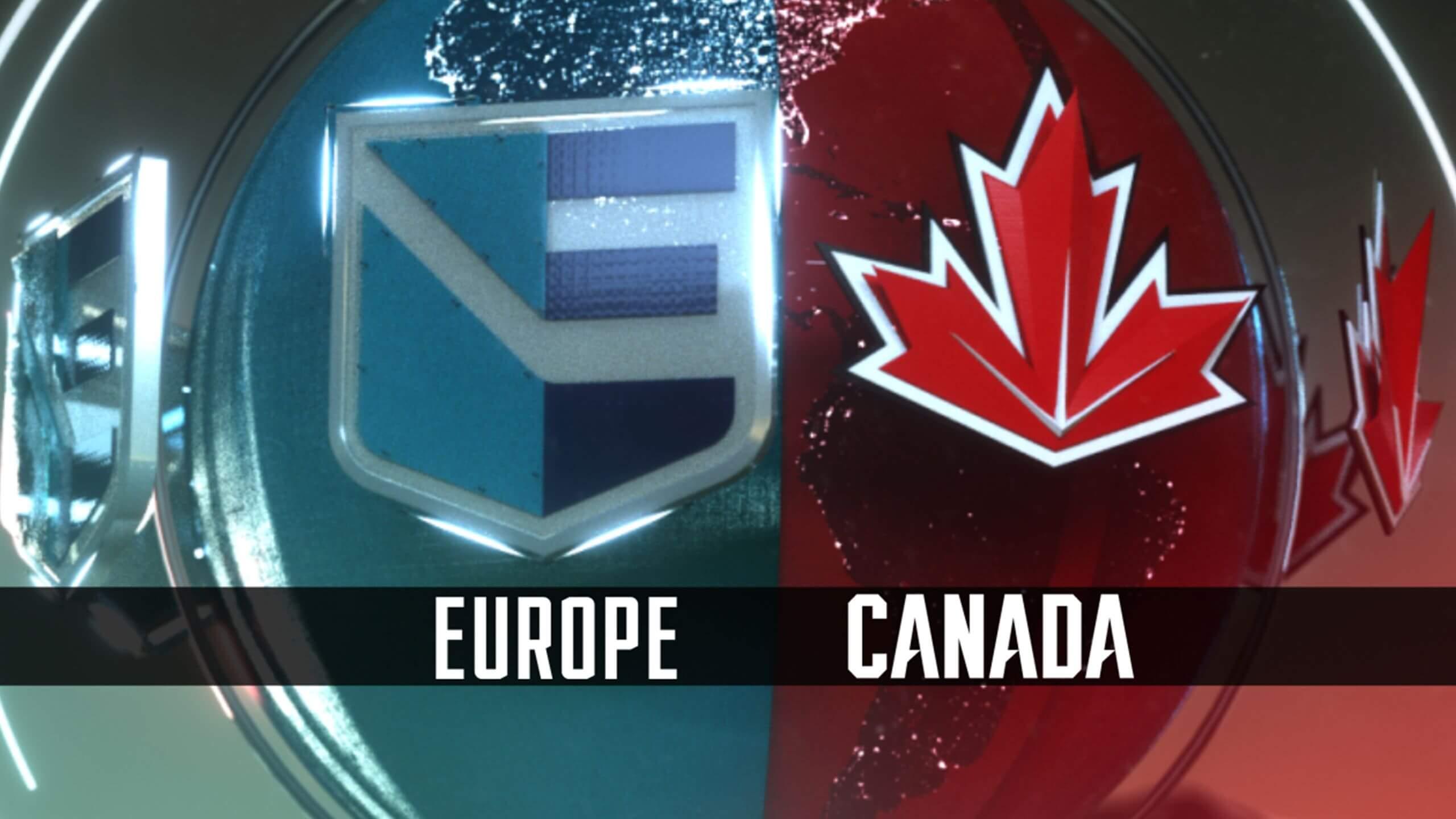 Европа - Канада второй матч Кубка Мира по хоккею 30 сентября 2016 года