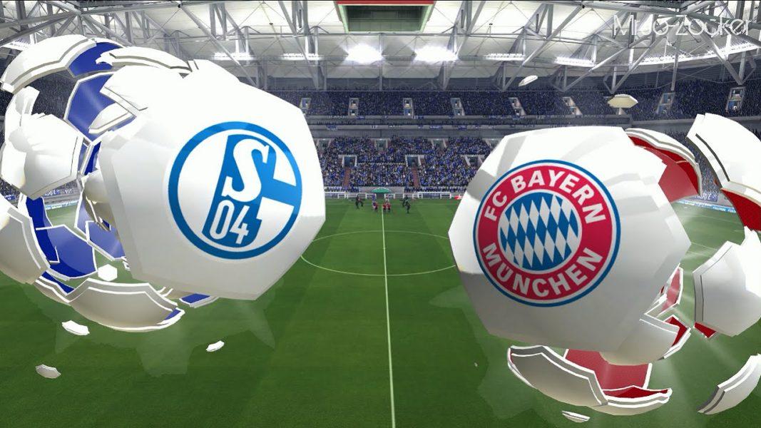 Матч Шальке 04 - Бавария 9 сентября 2016