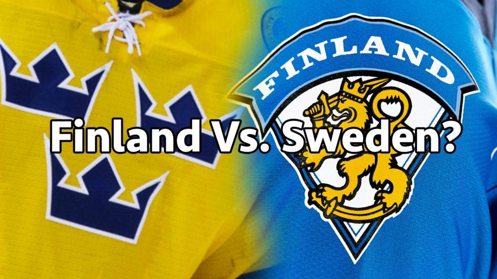 Финляндия - Швеция 30 декабря 2016