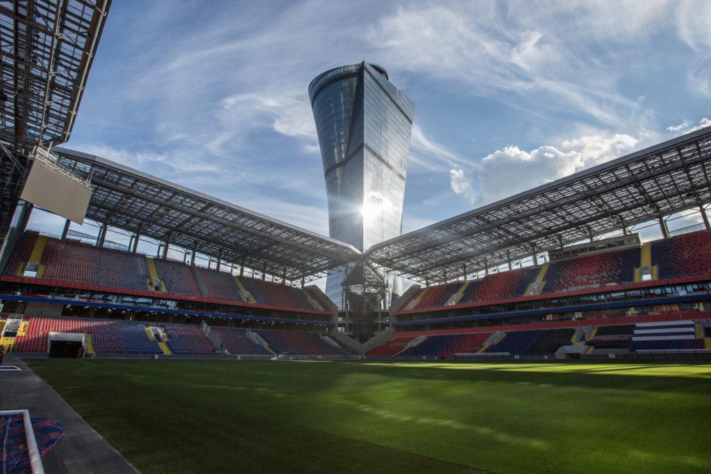 Фотография стадиона ЦСКА на 3-й Песчаной улице