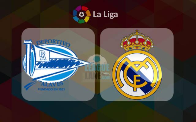 Алавес - Реал Мадрид 29 октября 2016 года