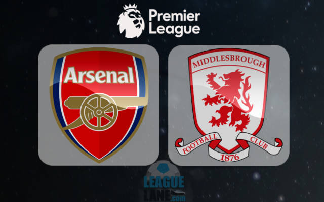 Арсенал - Мидлсбро 22 октября 2016 года