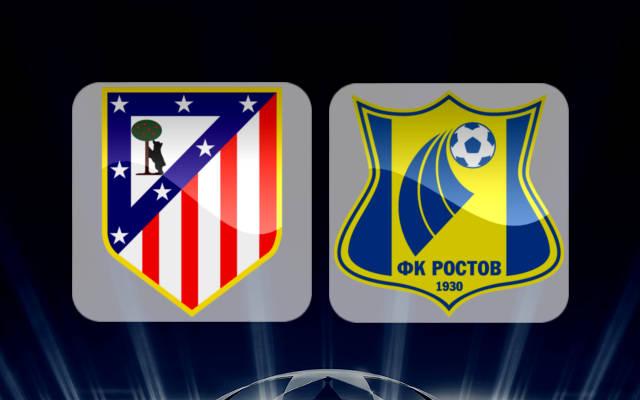 Атлетико Мадрид - Ростов 1 ноября 2016 года Лига Чемпионов