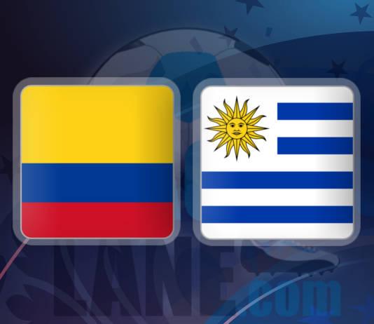 Колумбия - Уругвай 11 октября 2016 года