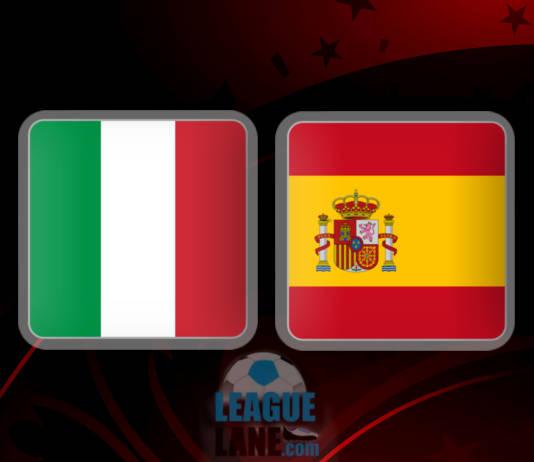 Италия - Испания 6 октября 2016 года