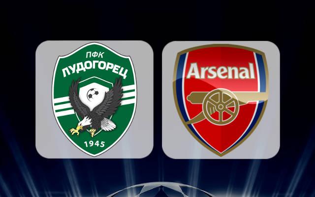 Лудогорец - Арсенал 1 ноября 2016 года