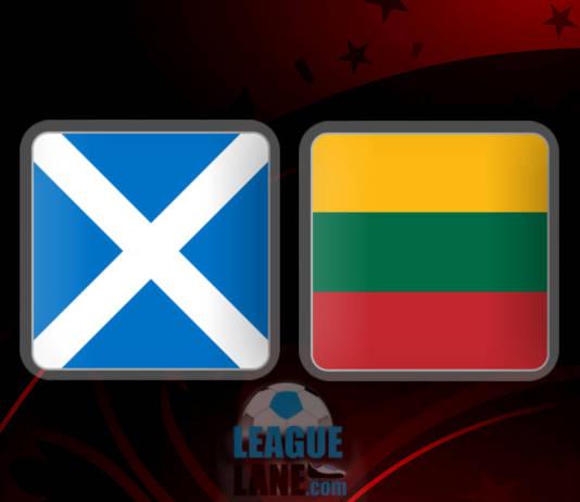 Шотландия - Литва 8 октября 2016 года