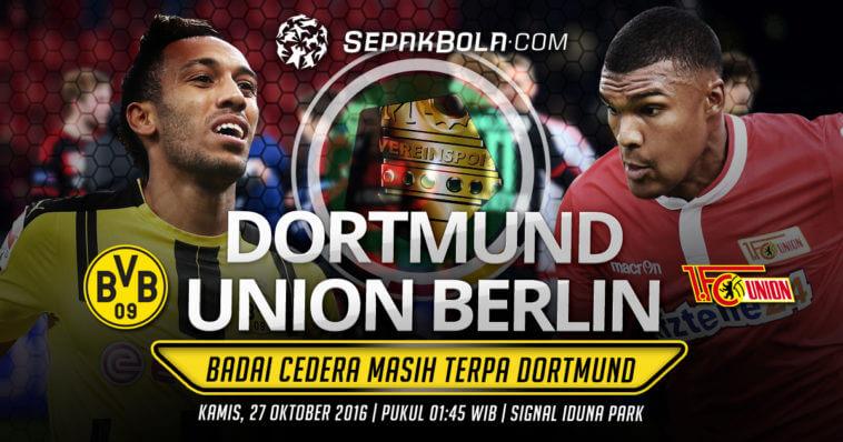 Боруссия Дортмунд - Унион Берлин 26 октября 2016 года Кубок Германии
