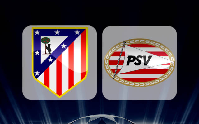 Атлетико Мадрид - ПСВ Эйндховен 23 ноября 2016 года
