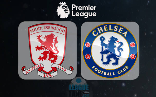 Мидлсбро – Челси 20 ноября 2016 года