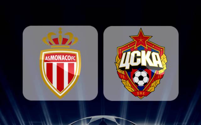 Монако - ЦСКА 2 ноября 2016 года Лига Чемпионов