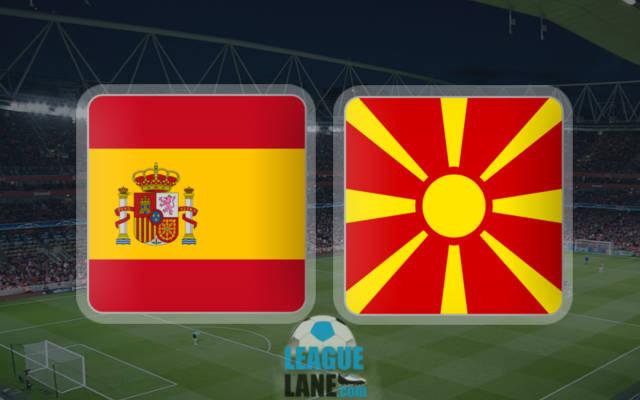 Испания – Македония 12 ноября 2016 года