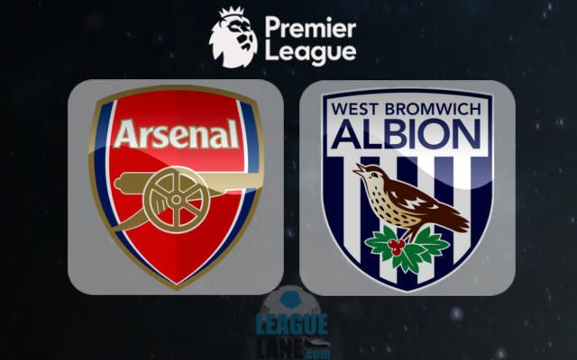 Арсенал - Вест Бромвич анонс игры 26 декабря 2016 года