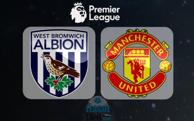 Вест Бромвич - Манчестер Юнайтед 17 декабря 2016 года
