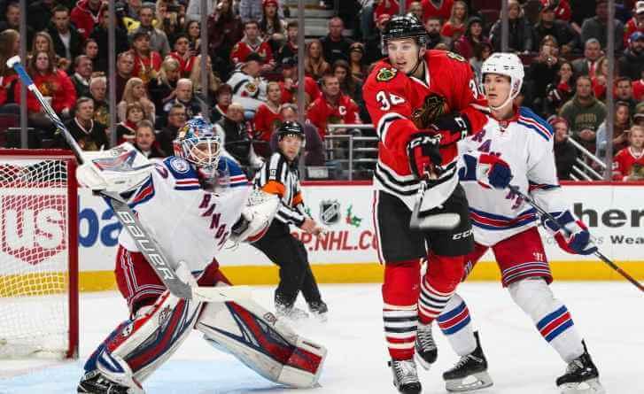Нью-Йорк Рейнджерс - Чикаго Блэкхокс 14 декабря 2016 года НХЛ анонс игры