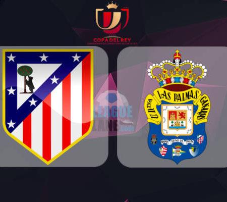 Атлетико Мадрид - Лас-Пальмас 10 января 2017