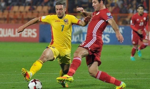 Прогноз на футбольный матч Румыния – Армения