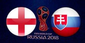 Прогноз на футбольный матч Англия - Словакия 04.09.2017