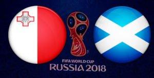 Прогноз на футбольный матч Шотландия - Мальта 04.09.2017