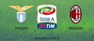 Прогноз на футбольный матч Лацио - Милан 10.09.2017