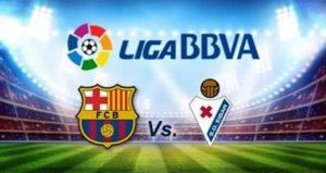 Прогноз на футбольный матч Барселона - Эйбар 19.09.2017