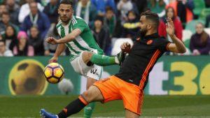 Прогноз на футбольный матч Бетис - Валенсия 15.10.2017