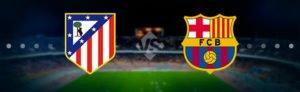 Прогноз на футбольный матч Атлетико - Барселона 14.10.2017