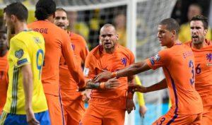 Прогноз на футбольный матч Нидерланды - Швеция 10.10.2017