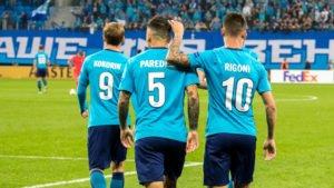 Прогноз на футбольный матч Зенит - Русенборг 19.10.2017